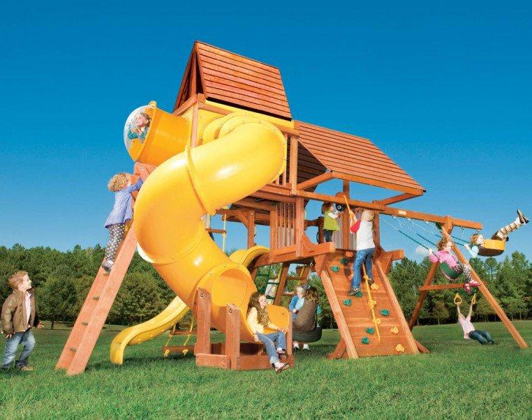 Детская площадка Woodplay Combo V RedWood